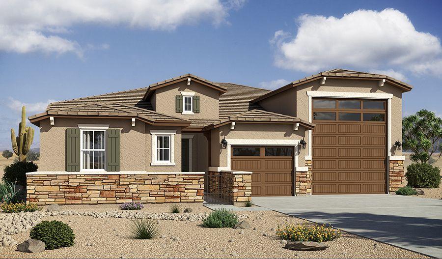 Single Family for Sale at Deacon 17336 W. Hadley Street Goodyear, Arizona 85338 United States