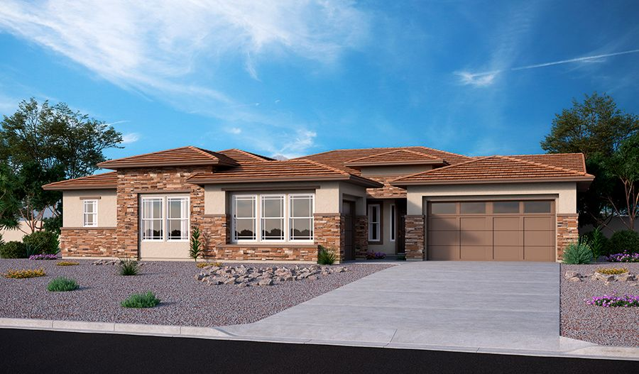 Single Family for Sale at Falcon View - Ryder 12543 W. Sierra Vista Court Glendale, Arizona 85307 United States