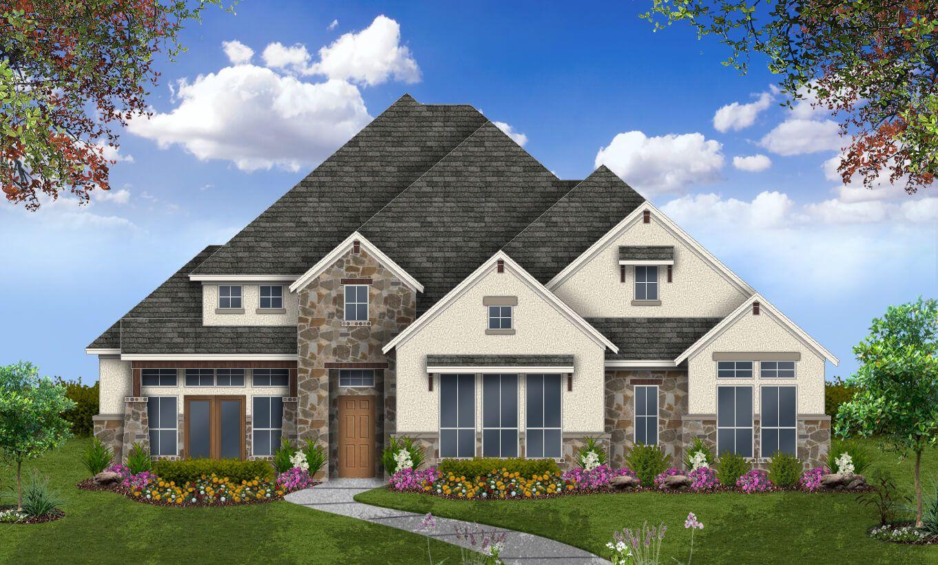Single Family for Sale at Lakeside At Tessera On Lake Travis 70' - Winnsboro 8016 Turning Leaf Cr. Lago Vista, Texas 78645 United States
