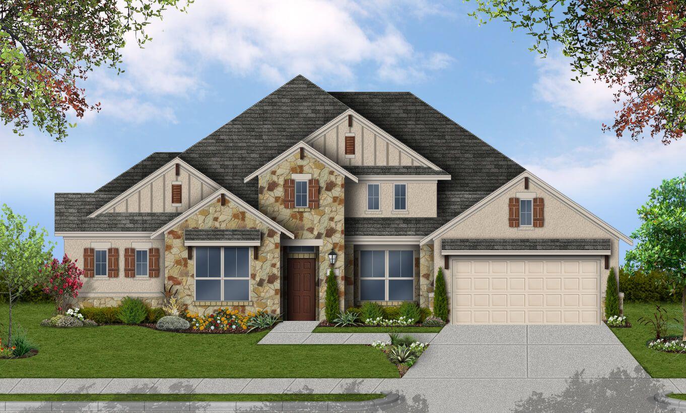 Single Family for Sale at Lakeside At Tessera On Lake Travis 70' - Newport 8016 Turning Leaf Cr. Lago Vista, Texas 78645 United States
