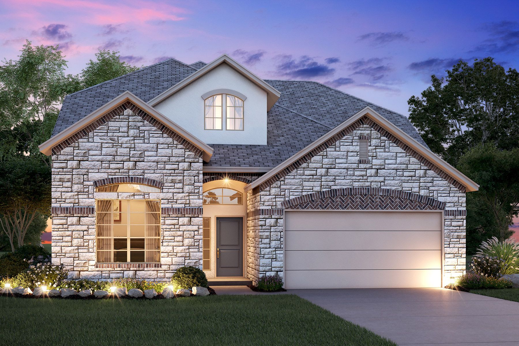 Single Family for Sale at Trails At Helotes - Rosewood 10513 Far Reaches Lane Helotes, Texas 78023 United States