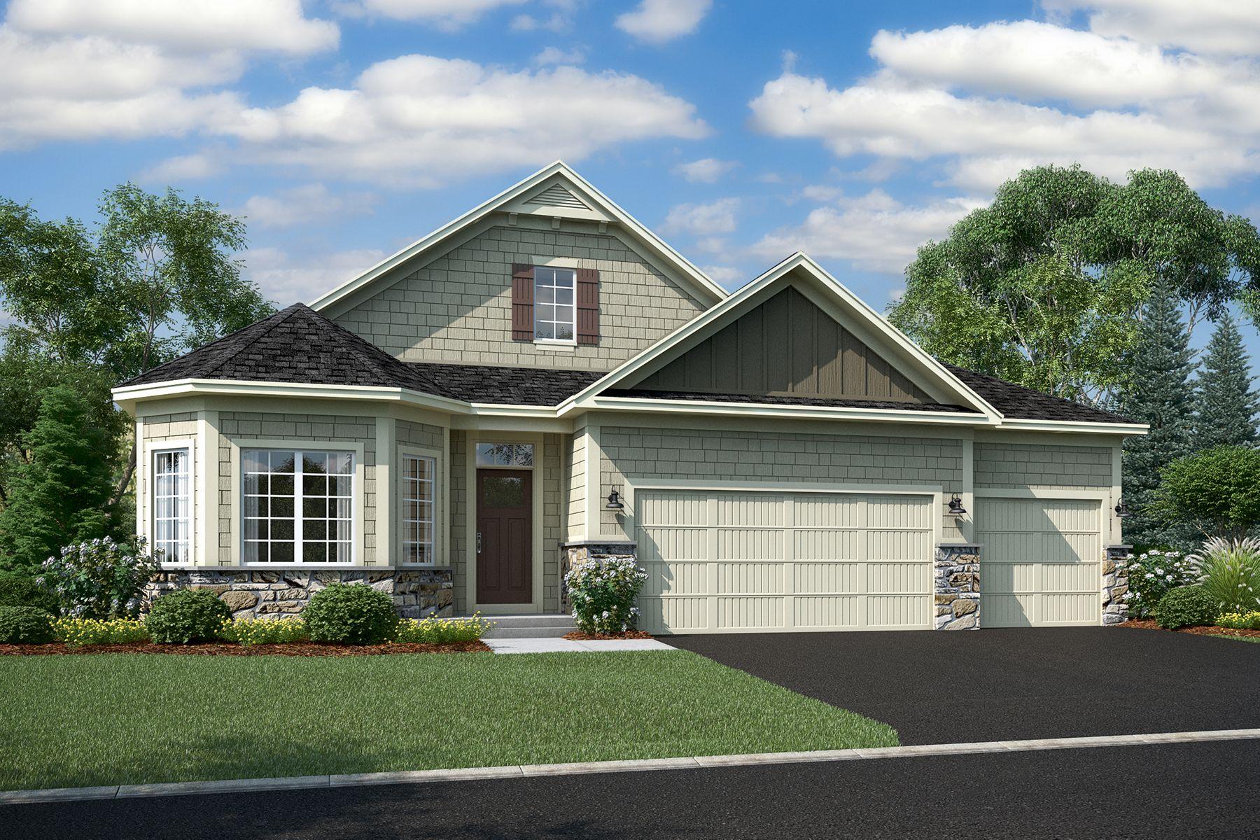 单亲家庭 为 销售 在 Graystone 4271 Lotus Drive Minnetrista, Minnesota 55331 United States