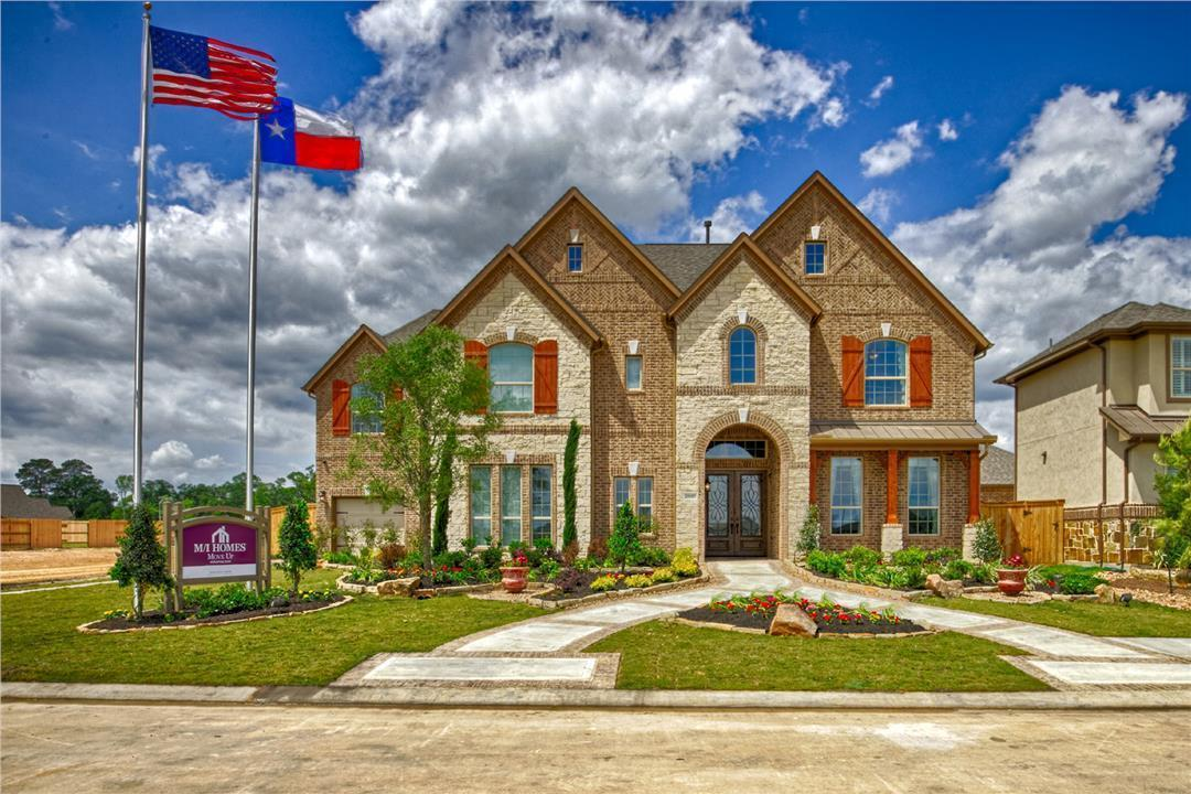 Lakes At Creekside New Homes In Tomball Tx By M I Homes