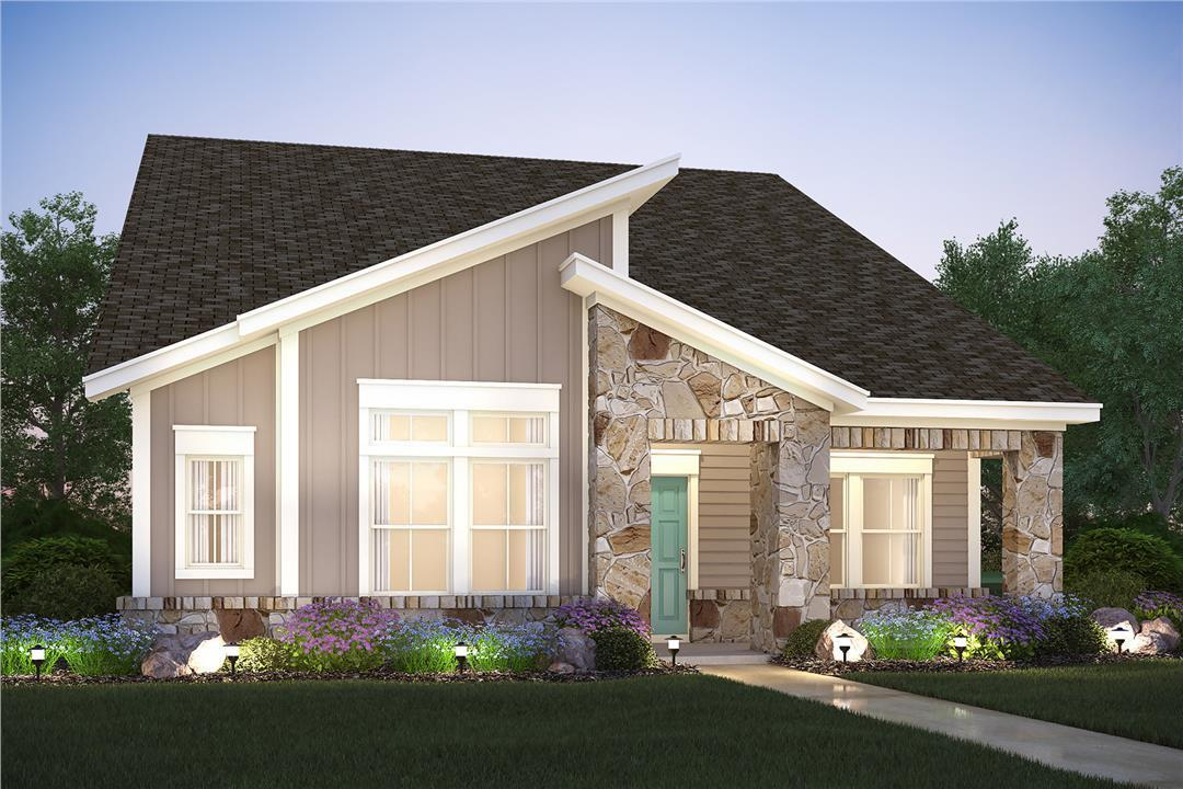 M I Homes Goodnight Finn 1354298 Austin Tx New Home