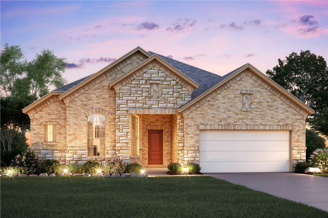 Regent park new homes in san antonio tx by m i homes for Modern home builders san antonio