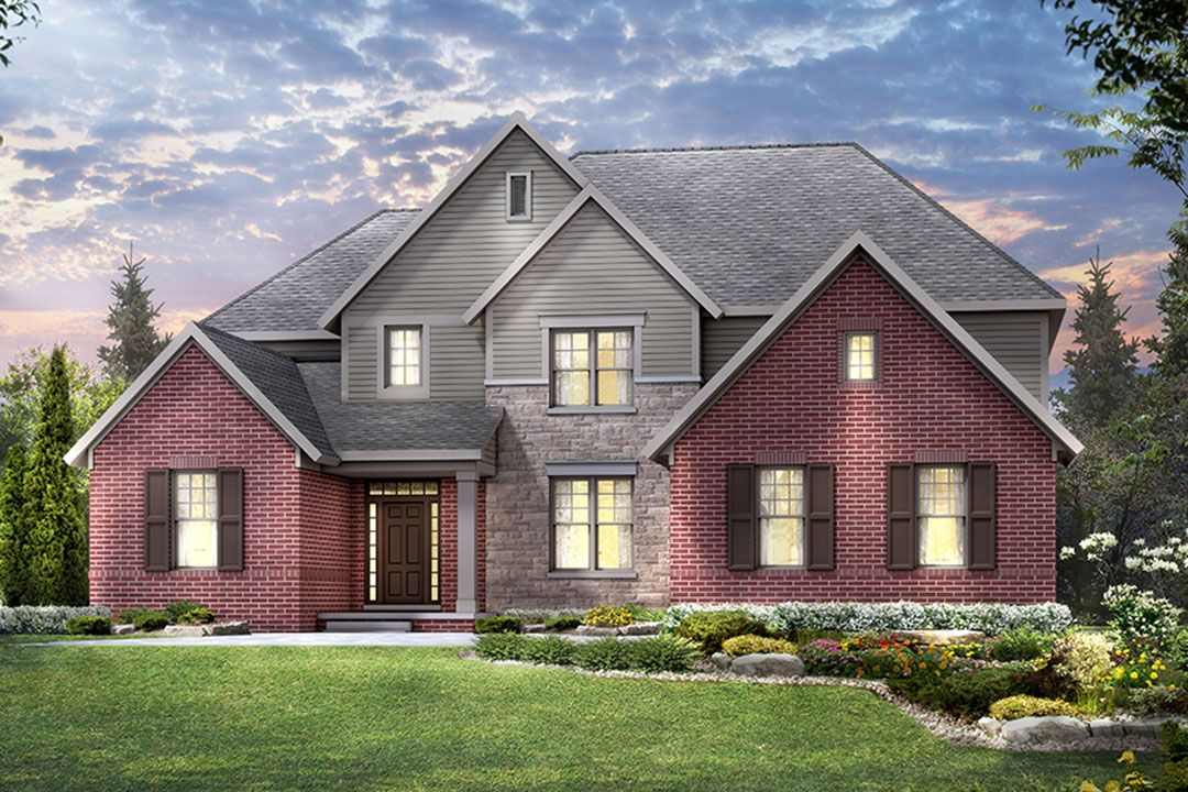 Single Family for Active at Valencia Estates South - Chelsea 47458 Alpine Drive Novi, Michigan 48374 United States
