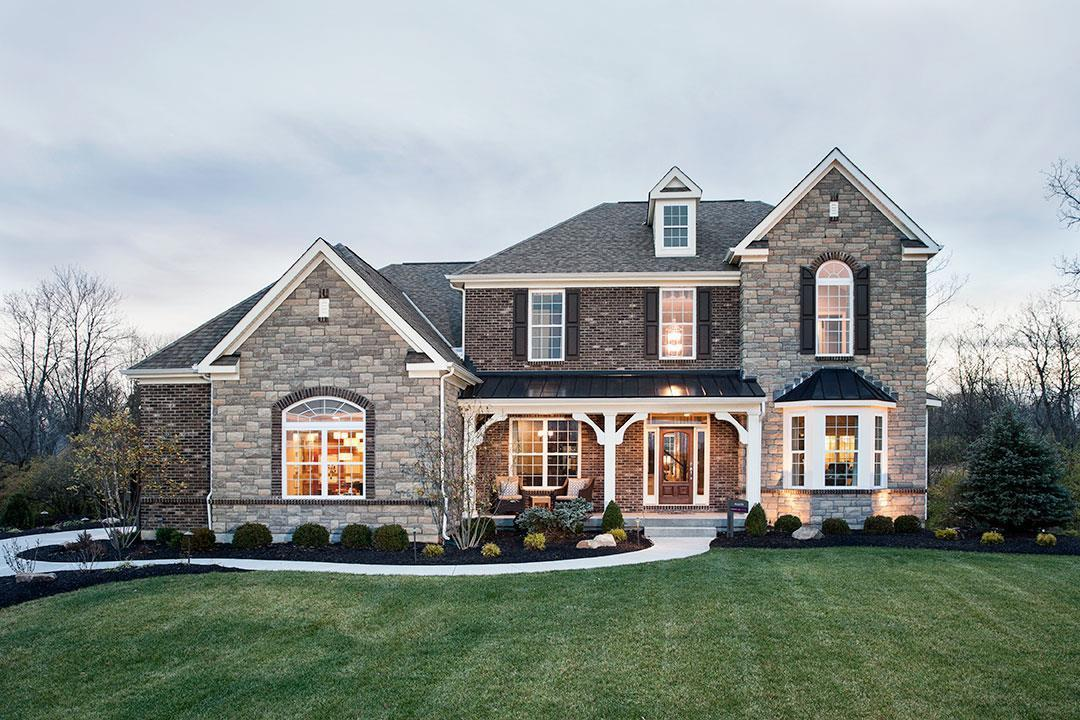 Carriage Hill New Homes In Liberty Township Oh By M I Homes
