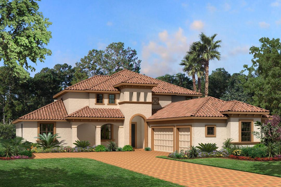 Single Family للـ Sale في St. Vincent Ii Showcase 10580 Cory Lake Drive Tampa, Florida 33647 United States