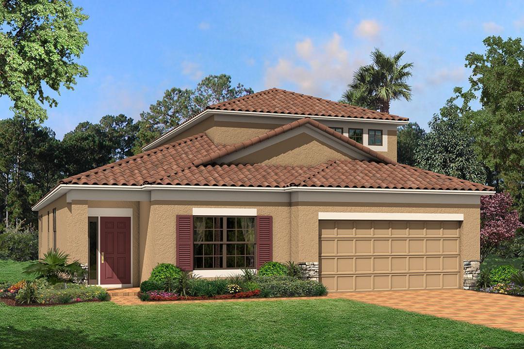 Single Family for Sale at Terralargo - Newport Ii Bonus 1745 Via Lago Drive Lakeland, Florida 33810 United States