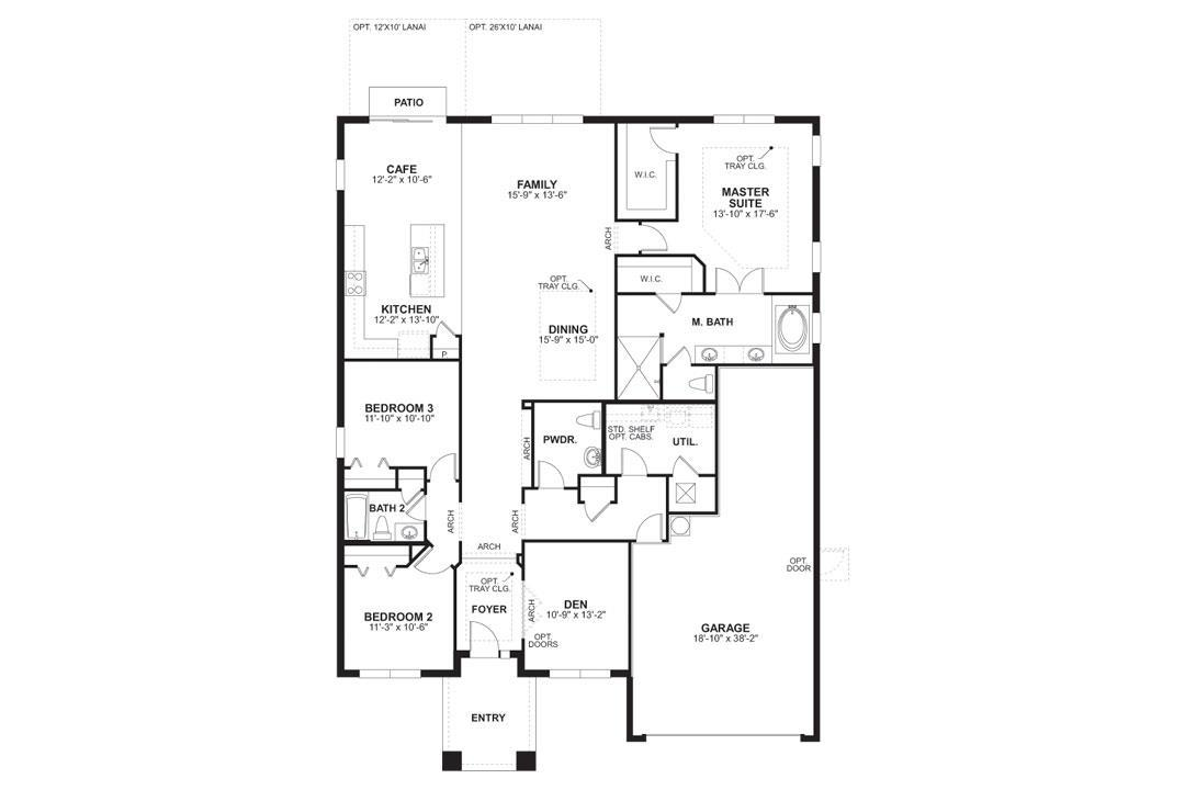 M i homes connerton kendall 1083211 land o lakes fl for Kendall homes floor plans