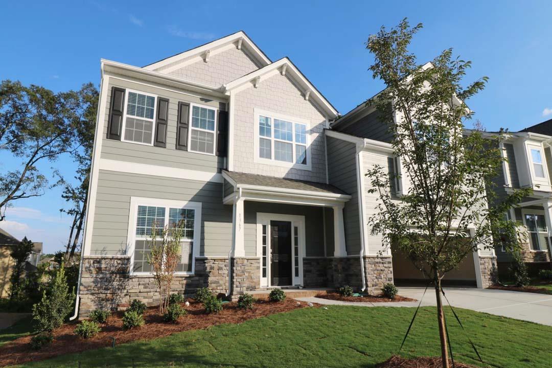 Mi Homes Brookvue New Homes Concord Nc