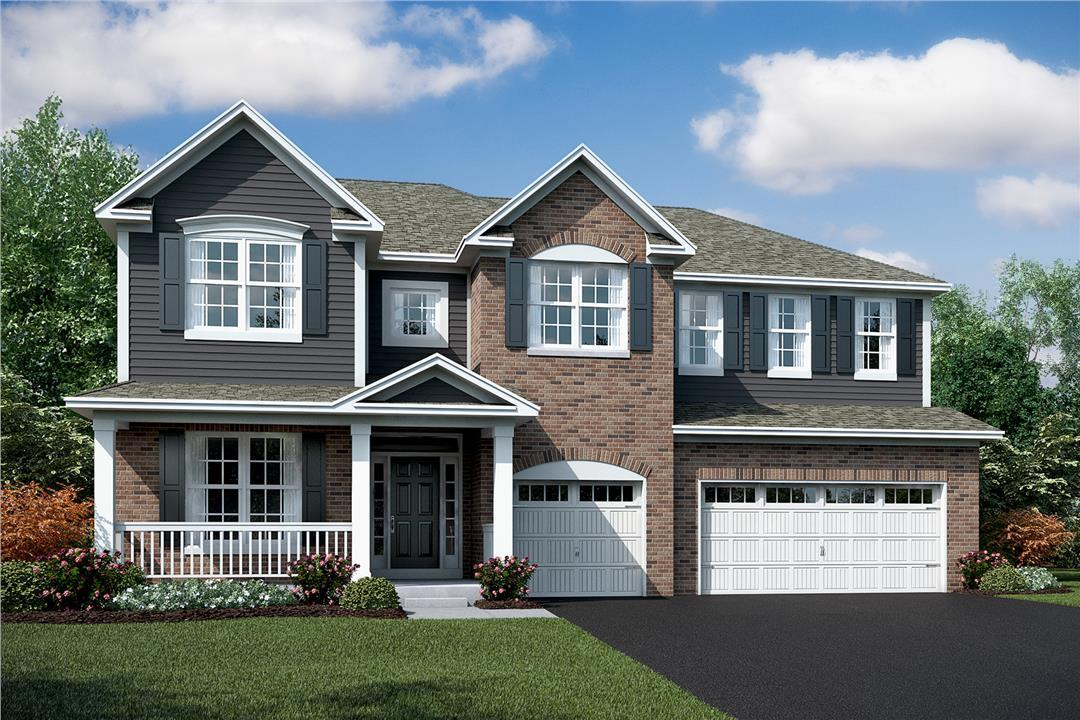 Single Family for Sale at Kettering Estates - Hudson 13621 Amelia Drive Lemont, Illinois 60439 United States