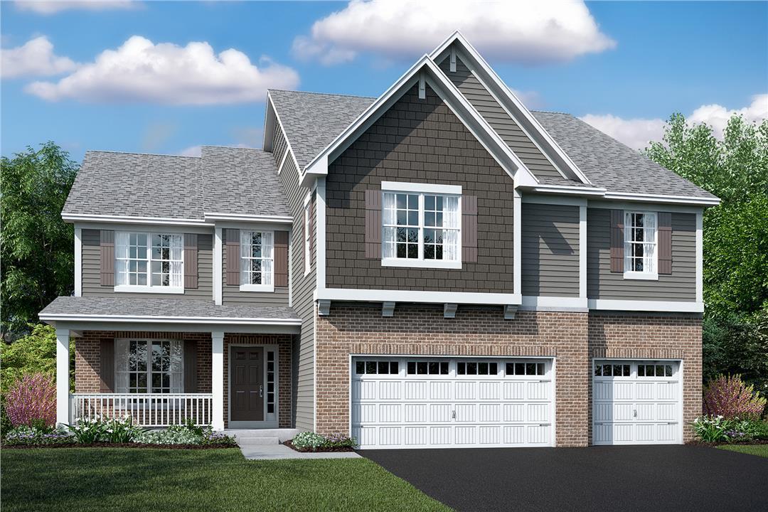 Single Family for Sale at Kettering Estates - Keating 13621 Amelia Drive Lemont, Illinois 60439 United States