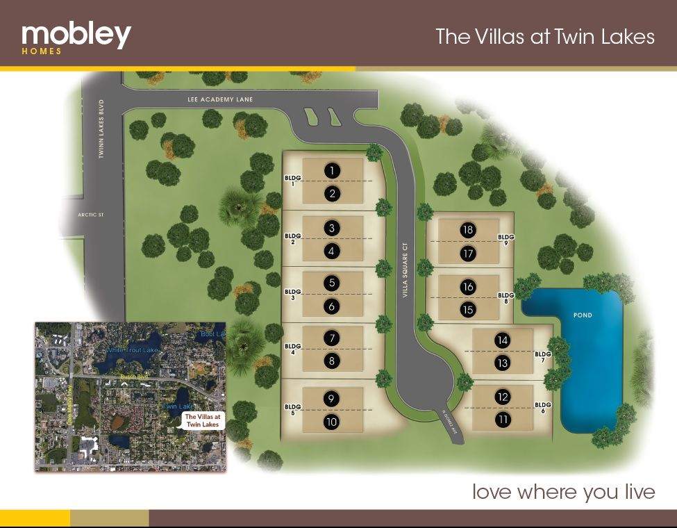 Photo of The Villas at Twin Lakes in Tampa, FL 33618
