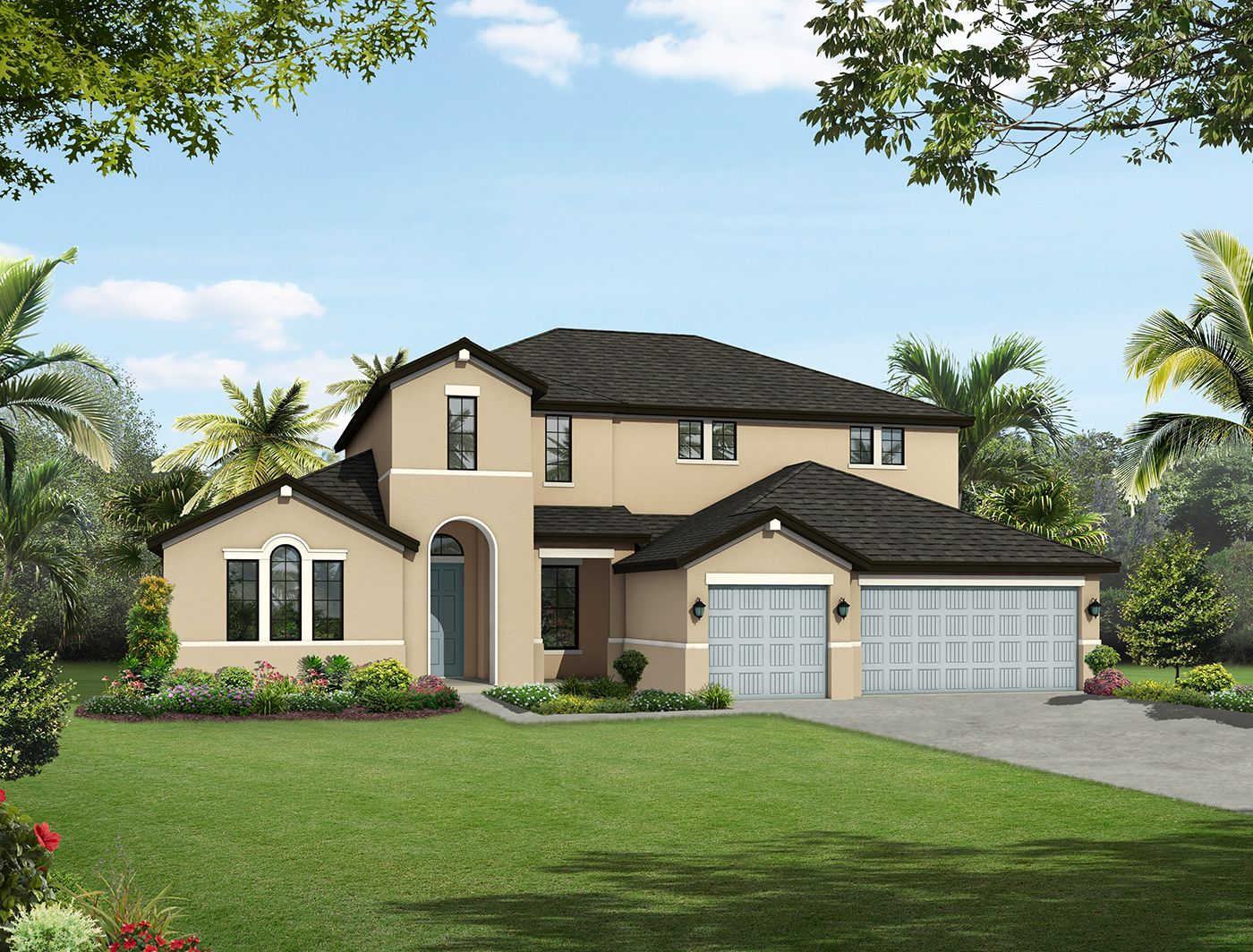 Single Family للـ Sale في The Manors At Lake Padgett - Augusta 21423 Carson Dr. Land O' Lakes, Florida 34639 United States