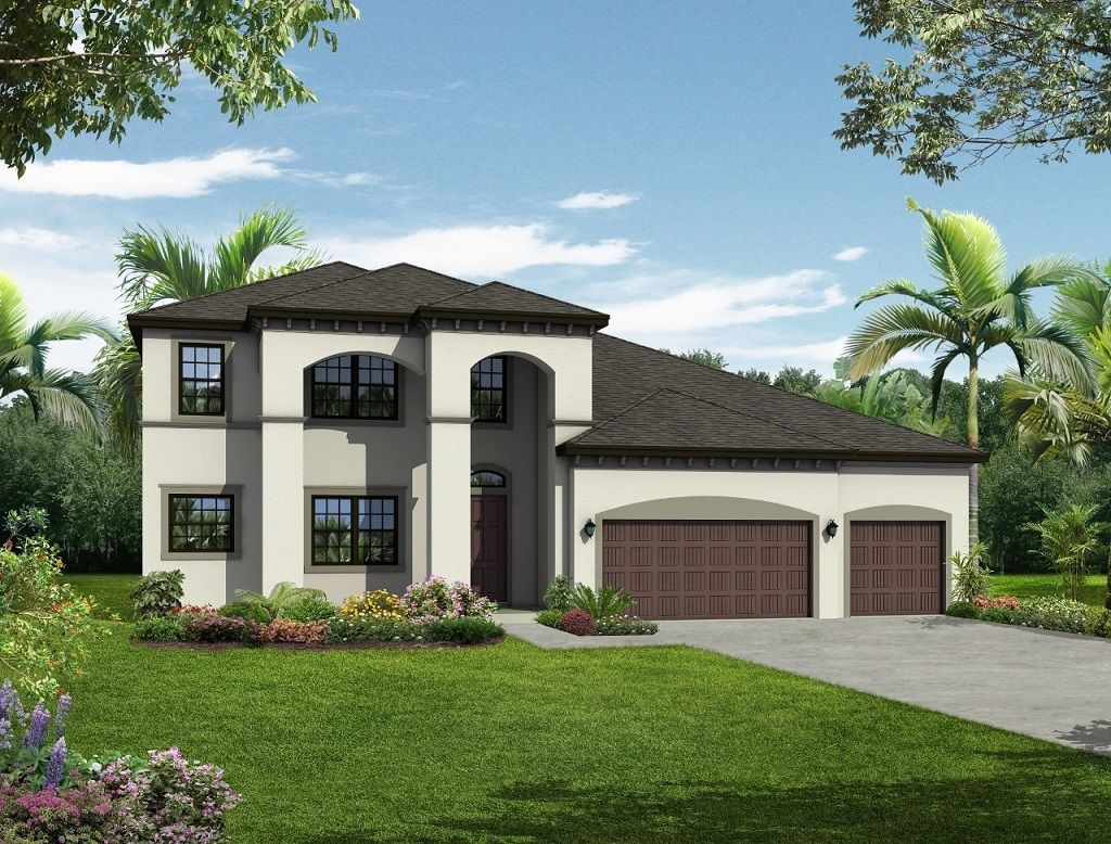 Single Family للـ Sale في The Manors At Lake Padgett - Madison 21423 Carson Dr. Land O' Lakes, Florida 34639 United States