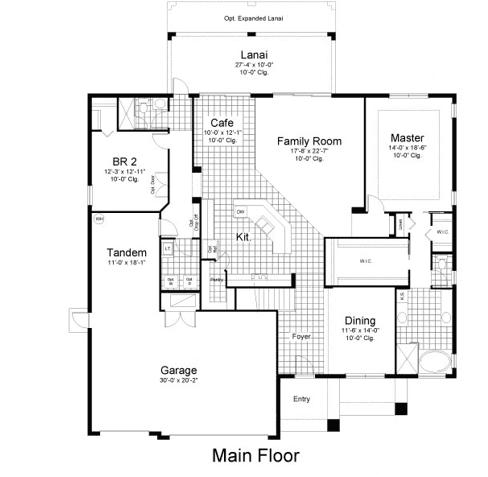 单亲家庭 为 销售 在 The Manors At Lake Padgett - Madison 21423 Carson Dr. Land O' Lakes, Florida 34639 United States