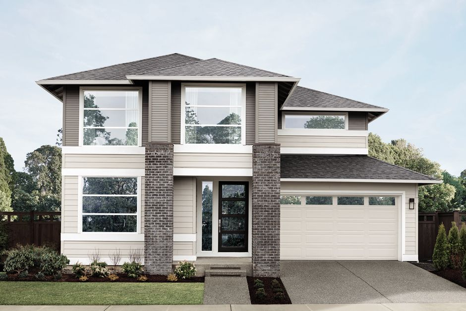 Unifamiliar por un Venta en Mainvue Homes At Tehaleh - Astoria 14402 Overlook Dr E Bonney Lake, Washington 98391 United States