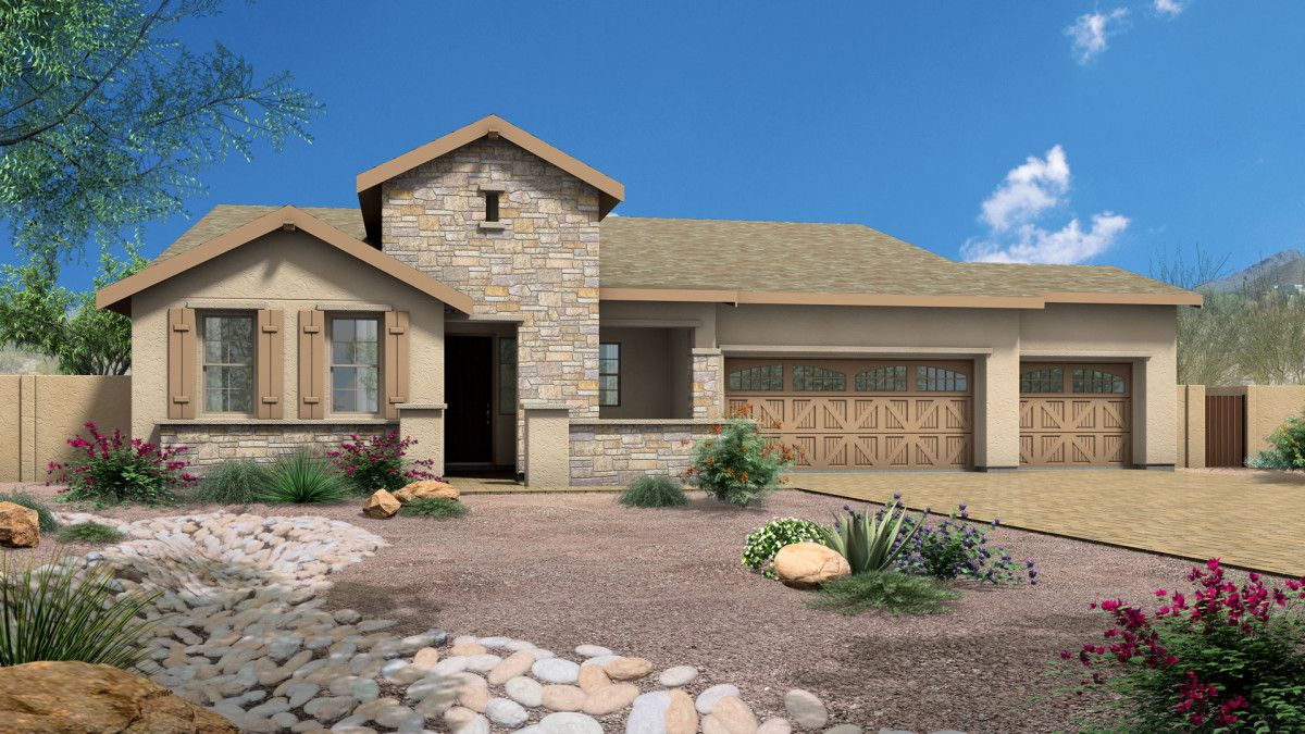 Single Family for Sale at Mingus West - Summit 8538 Shiloh Road Prescott Valley, Arizona 86315 United States