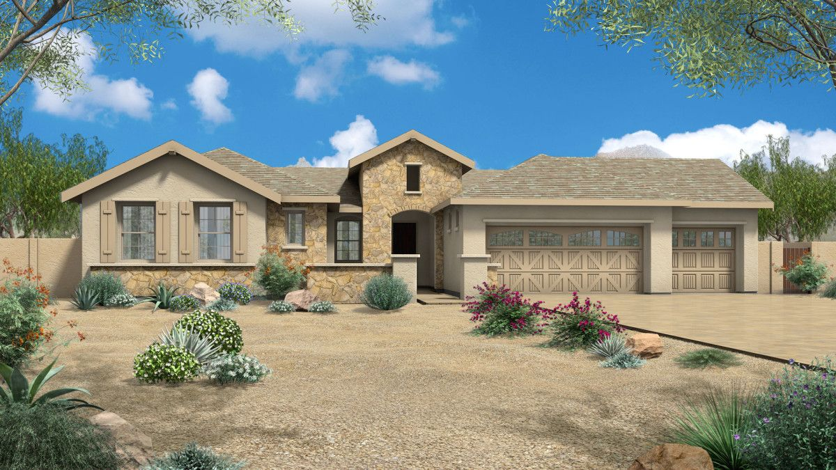 Single Family for Sale at Pinnacle 8826 Powder Horn Lane Prescott Valley, Arizona 86315 United States