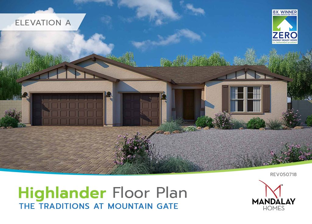 Single Family for Sale at The Traditions At Mountain Gate - Highlander 594 Haynes Dr Clarkdale, Arizona 86324 United States