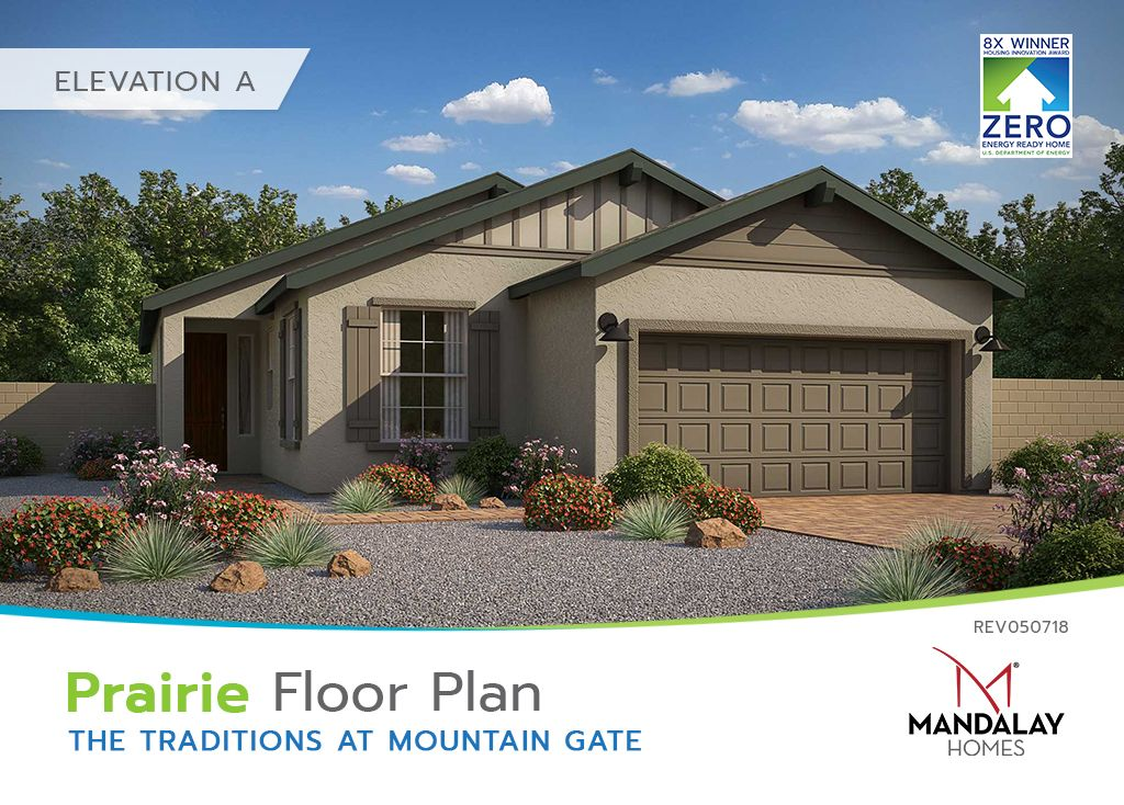 Single Family for Sale at The Traditions At Mountain Gate - Prairie 594 Haynes Dr Clarkdale, Arizona 86324 United States