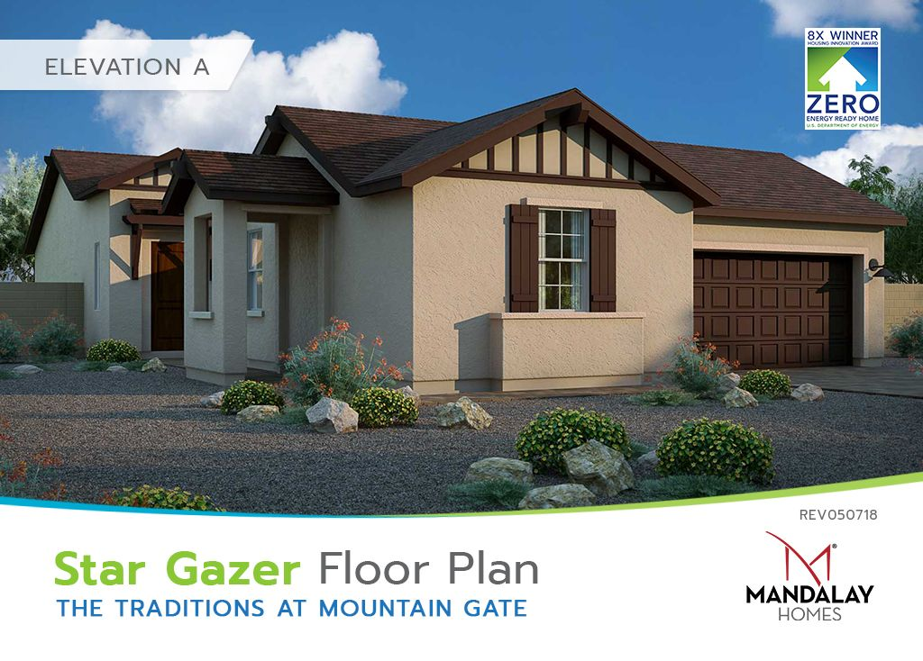 Single Family for Sale at The Traditions At Mountain Gate - Star Gazer 594 Haynes Dr Clarkdale, Arizona 86324 United States
