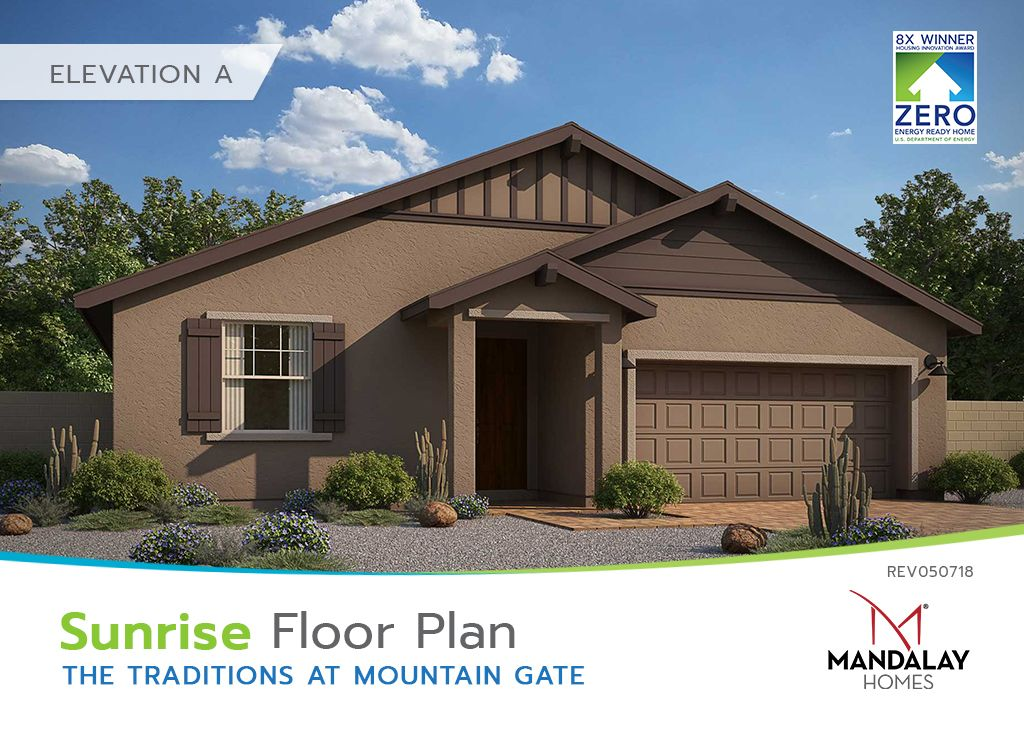 Single Family for Sale at The Traditions At Mountain Gate - Sunrise 594 Haynes Dr Clarkdale, Arizona 86324 United States