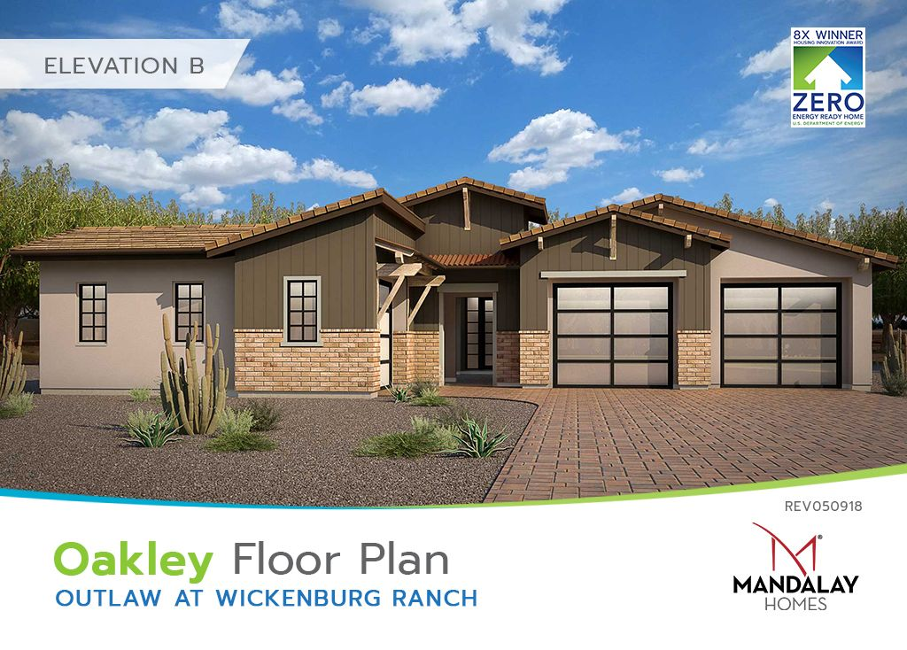 Single Family for Sale at Outlaw At Wickenburg Ranch - Oakley 3212 Maverick Drive Wickenburg, Arizona 85390 United States