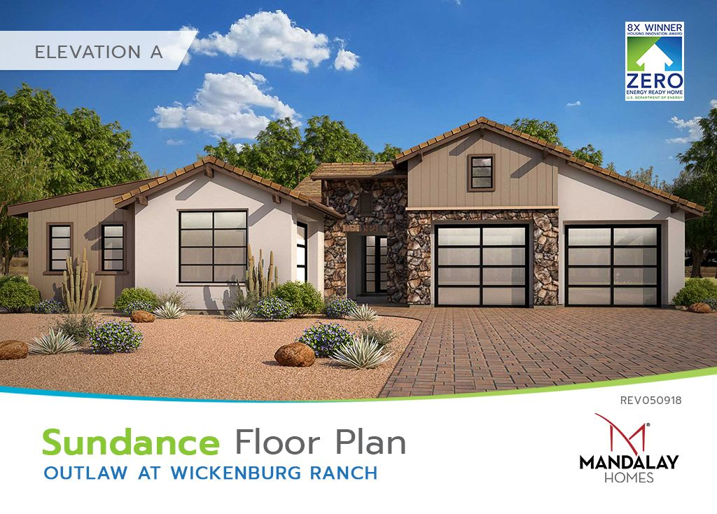 Single Family for Sale at Outlaw At Wickenburg Ranch - Sundance 3212 Maverick Drive Wickenburg, Arizona 85390 United States