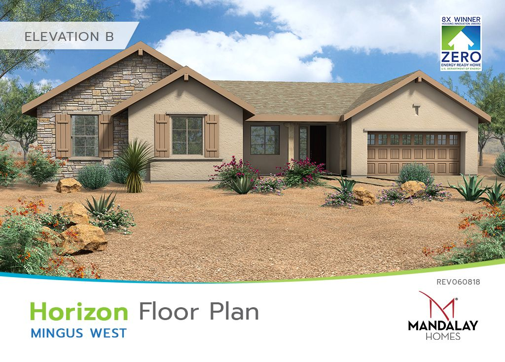 Single Family for Sale at Mingus West - Horizon 8538 Shiloh Road Prescott Valley, Arizona 86315 United States