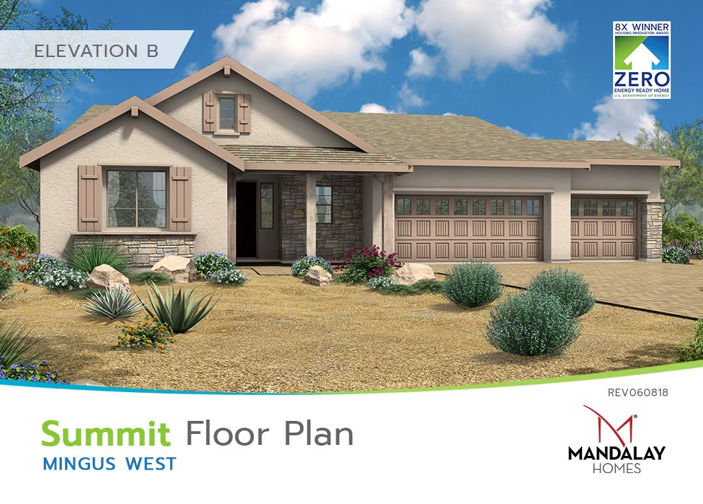 Single Family for Sale at Mingus West - Summit 8538 Shiloh Road Prescott Valley, Arizona 86315 United States