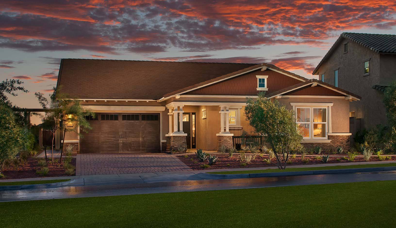 Verrado palisades new homes in buckeye az by maracay homes for Verrado home builders