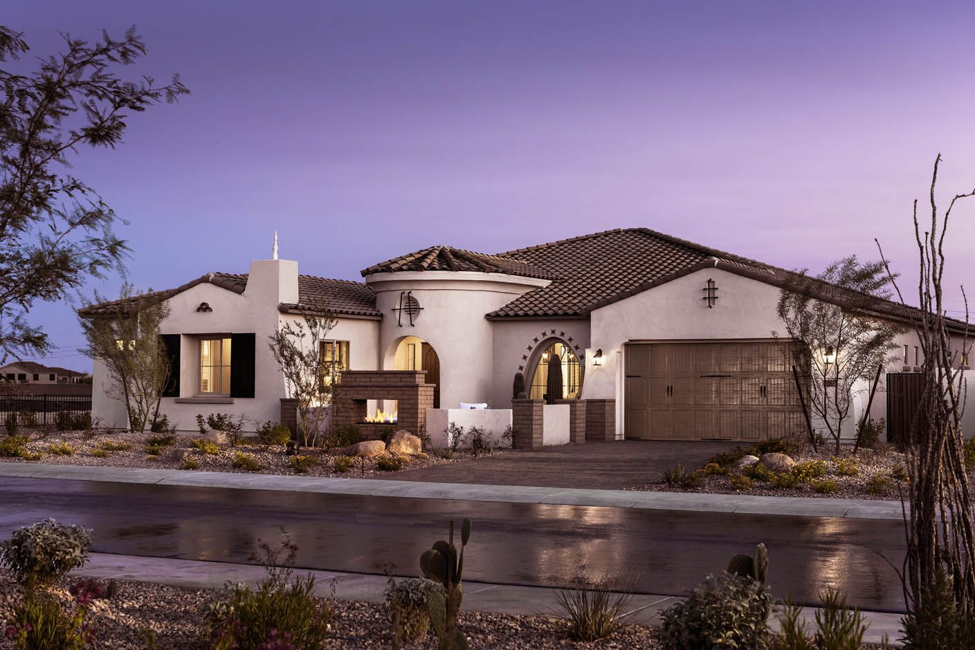 Single Family for Active at Pinnacle 9238 W. Via Del Sol Peoria, Arizona 85383 United States