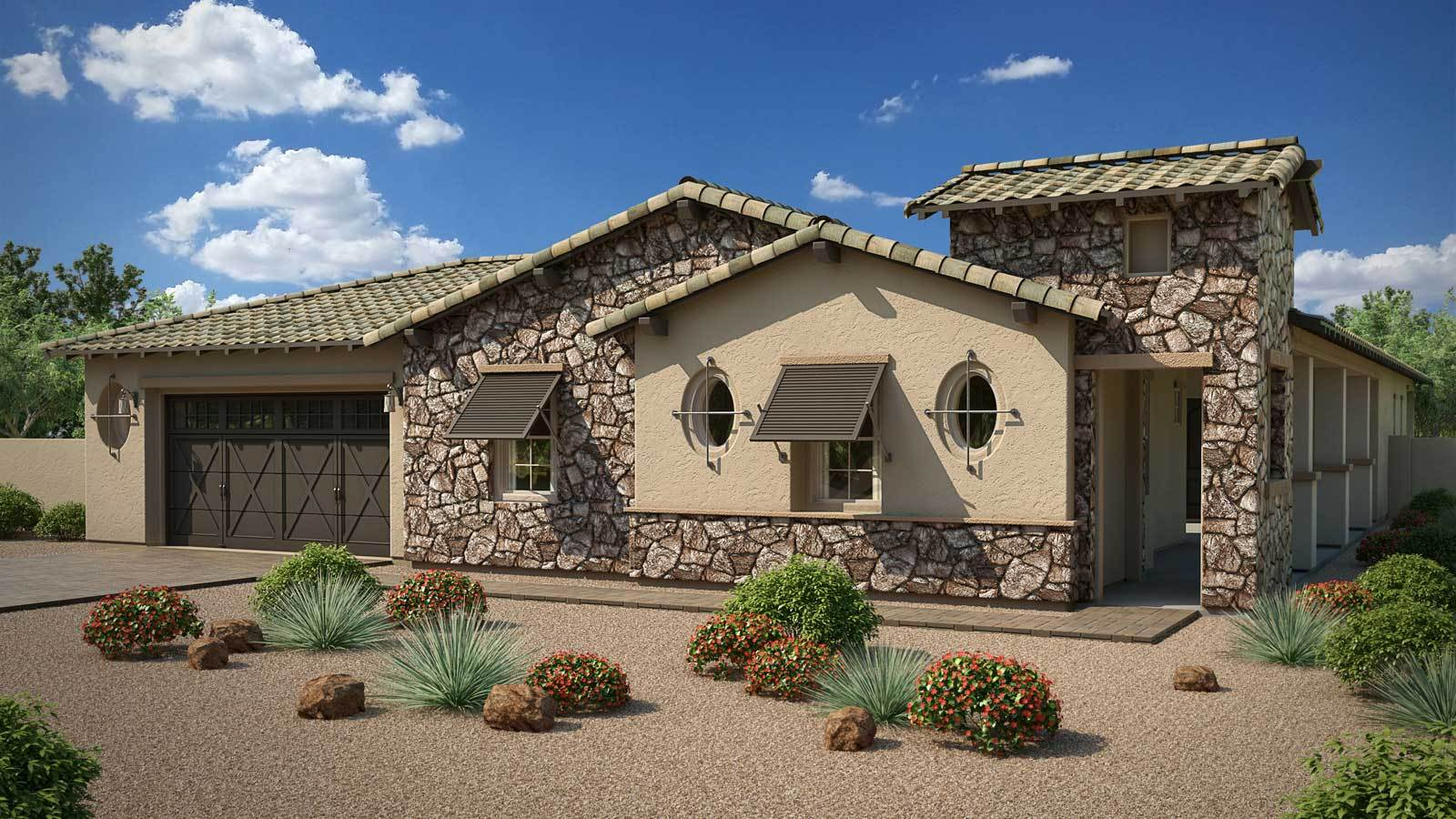 Single Family for Active at Hawthorn Manor - Jade 2361 E. Cherrywood Place Chandler, Arizona 85249 United States