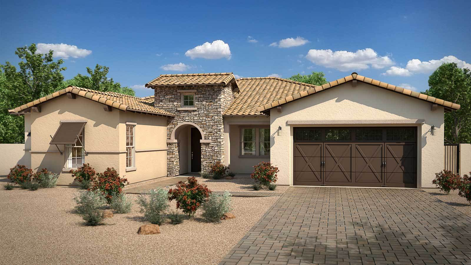 Single Family for Sale at Hawthorn Manor - Turquoise 2361 E. Cherrywood Place Chandler, Arizona 85249 United States