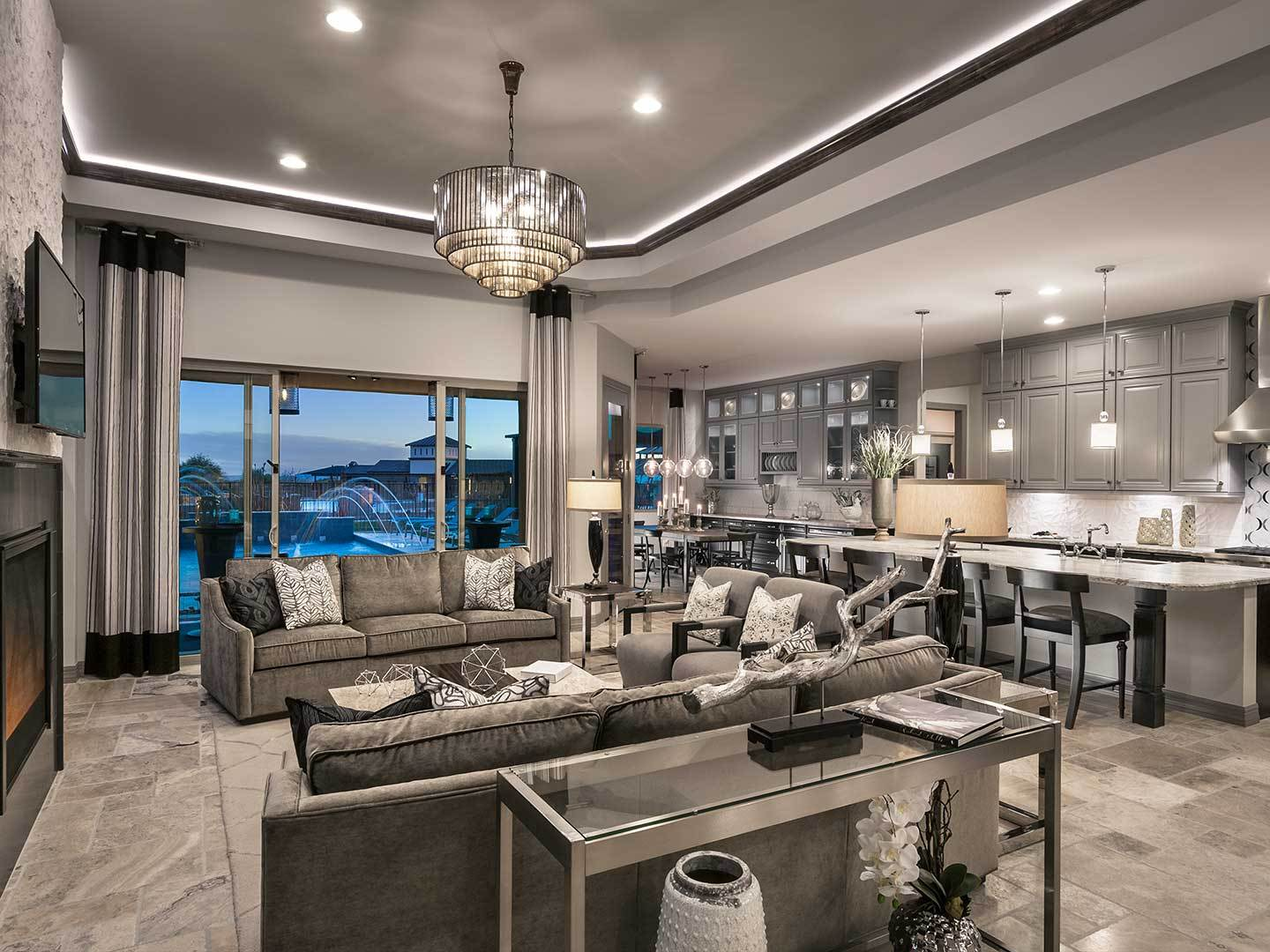 The Pinnacle At Center Pointe Vistoso New Homes In Oro