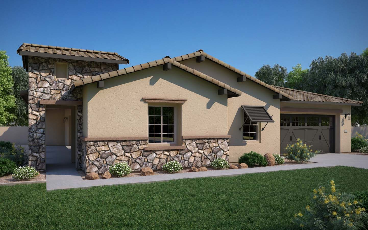 单亲家庭 为 销售 在 Residence 3 23144 N. 76th Ln. Peoria, Arizona 85383 United States