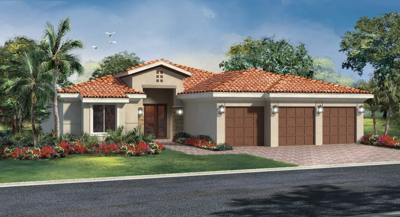 Unique la famille pour l Vente à Marin Ranches By Kennedy Homes - Ranchera 5620 Sw 106th Avenue Cooper City, Florida 33328 United States