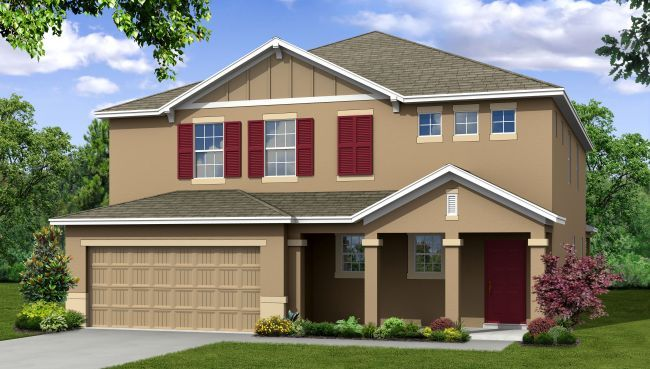 Single Family for Sale at Sisson Meadows - Brentwood 204 Breakaway Trl. Titusville, Florida 32780 United States