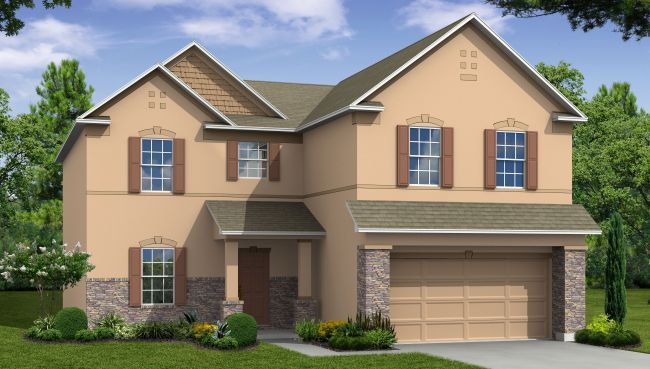 Single Family for Sale at Haines Ridge - Baybury 202 Barrington Drive Haines City, Florida 33844 United States