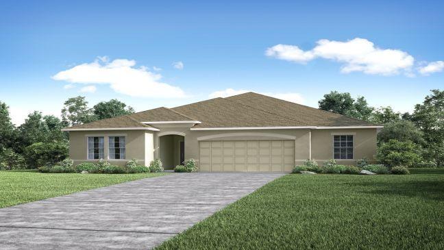 Single Family for Sale at Haines Ridge - Huntington 202 Barrington Drive Haines City, Florida 33844 United States