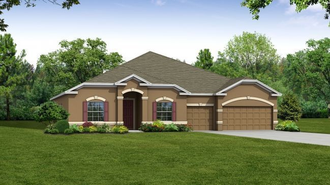Single Family for Sale at Woodland Waters - Livorno Brooksville, Florida 34613 United States