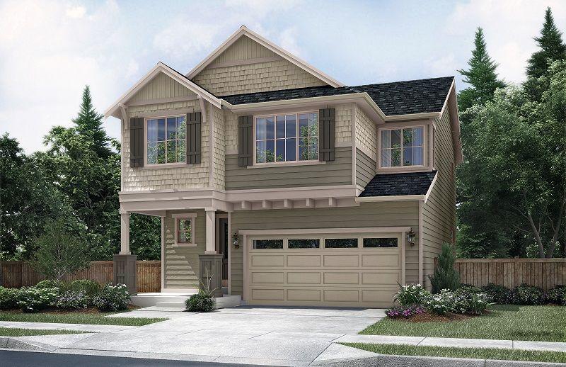 Single Family for Sale at Mukilteo Landing - 2548 3105 Russell Way, Lot 2 Lynnwood, Washington 98087 United States