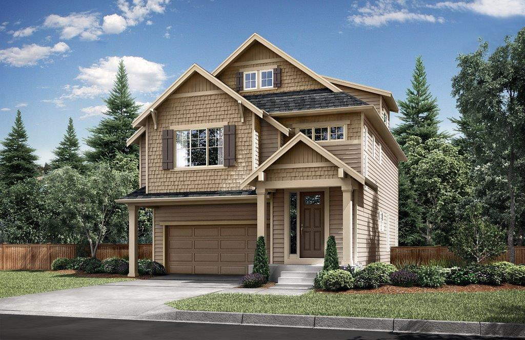 Single Family for Sale at Kingstone - 2518-D 14926 16th Ave W, Lot 31 Lynnwood, Washington 98087 United States