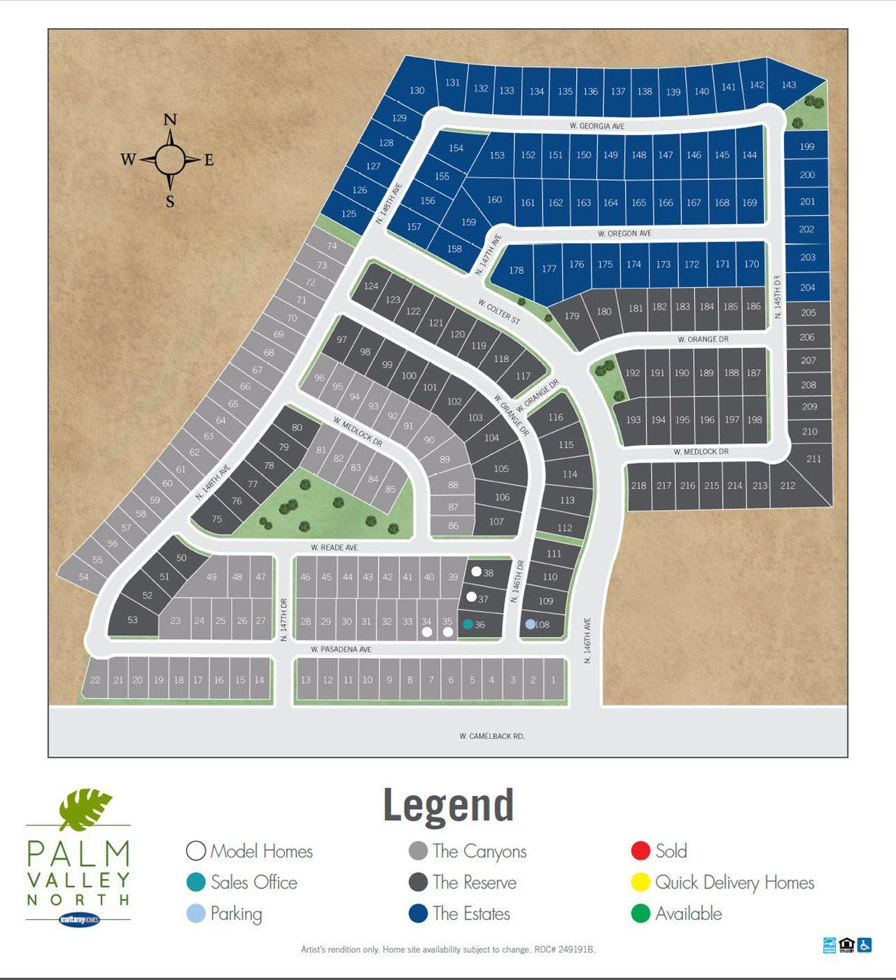 Single Family for Sale at Bridgestone 5327 N 148th Avenue Litchfield Park, Arizona 85340 United States