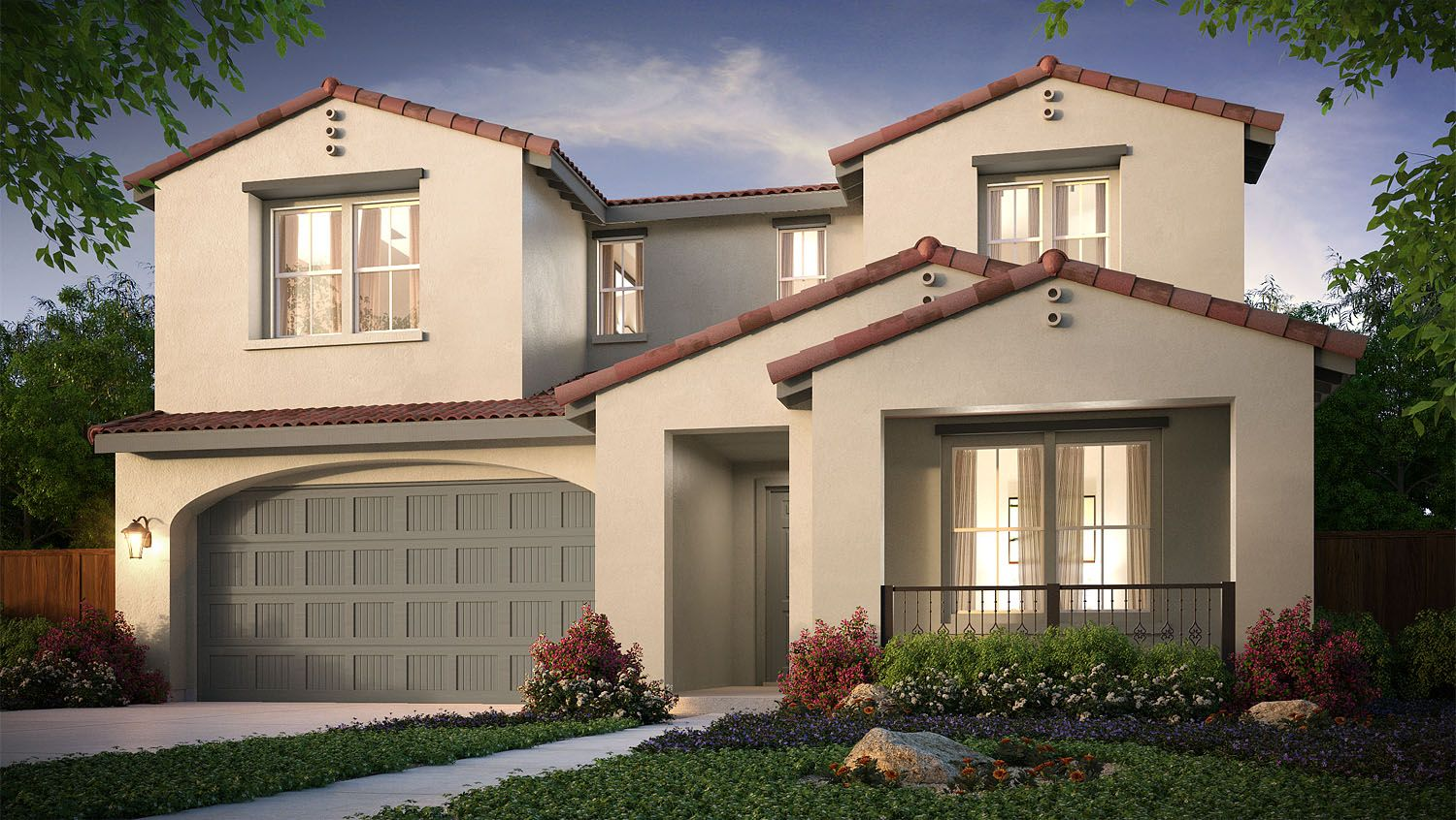 Residence four santerra at riverstone in madera for Riverstone house