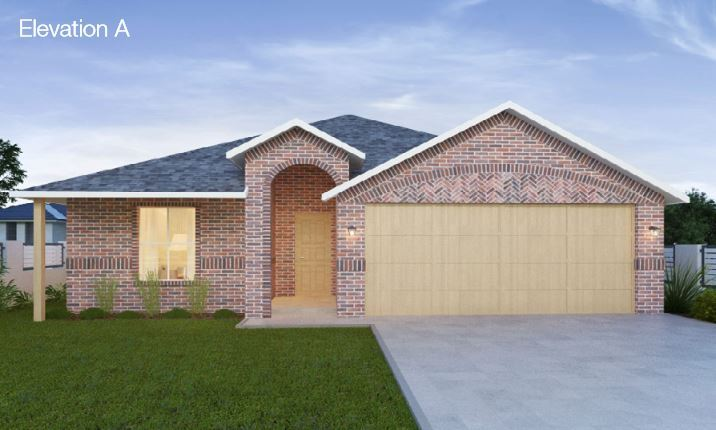 Single Family for Sale at Sable Creek - The Donovan 102 N. Highland Drive Sanger, Texas 76266 United States