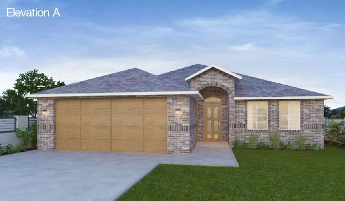 Single Family for Sale at Sable Creek - The Cogburn 102 N. Highland Drive Sanger, Texas 76266 United States