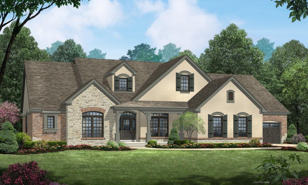 Single Family for Sale at Schuessler Valley Estates - Shelbourne Schuessler Valley Dr. St. Louis, Missouri 63128 United States